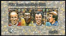 2006 Malta Football World Cup Championships Mini Sheet SG MS1488 Unmounted Mint