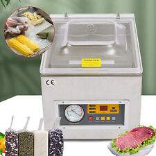 New Commercial Table Top Food Chamber Vacuum Sealer Packing Sealing Machine 120w