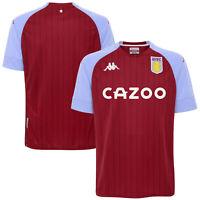 Aston Villa Home Stadium Sports Training Football Shirt Top 2020-21