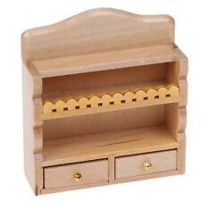 1/12 Dollhouse Miniature Furniture Kitchen Bathroom Hanging Cabinet Shelf Mo Fi
