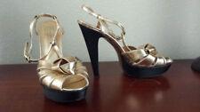 Coach Leather Medium (B, M) Width Heels Women's US Size 8