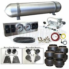 """58-64 Impala Airbag Kit - Stage 1 - 1/4"""" Manual Control 4 Path Air Ride System"""