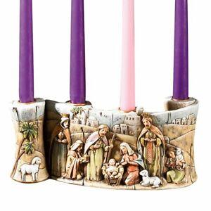 Advent Wreath Nativity Scroll