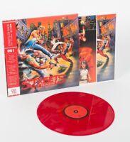 Streets of Rage Vinyl Record Soundtrack Single LP 180g Translucent Red Variant