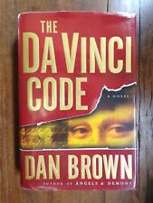 Dan Brown ~ The Da Vinci Code ~ 1st/1st ~ HC/DJ ~ 2003