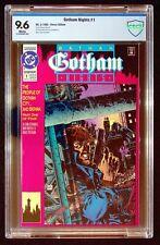 Gotham Nights #1 CBCS 9.6 Barreto Mitchell Patterson Batman