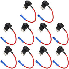 Lot10 12V Car Auto Standard Add A Circuit Fuse Tap Piggy Blade Holder Socket