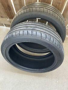 2 New, Dunlop Sport Maxx GT, run flat performance tires.