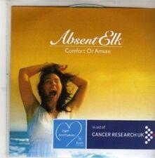 (Cb990) Absent Elk, Comfort or Amuse - 2011 Dj Cd