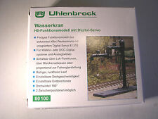 Uhlenbrock H0 80100 Wasserkran Drehbares Funktionsmodell, Neuware.
