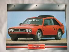 Lancia Delta S4 Dream Cars Card