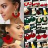 Women 2019 Bohemian Earrings Long Tassel Fringe Boho Dangle Earring Jewelry Hook