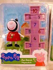 PEPPA PIG'S ZOE ZEBRA'S HOPSCOTCH FUN PLAYSET NEW 2016