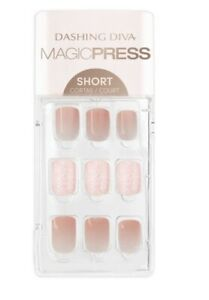 Dashing Diva Press on nails -Sunset Breeze-short - NEW