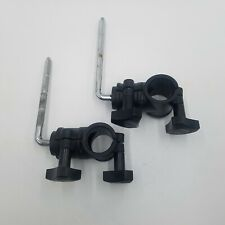 2 Roland V-Drum Cymbal Rack Clamp Mount L-Rod for Drum Cymbal