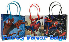 18 pcs Marvel SpiderMan Party Favor Bags Candy Treat Birthday Loot Gift Sack Bag