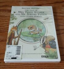 The Tale of Mrs. Tiggy-Winkle and Mr. Jeremy Fisher (DVD) Beatrix Potter OOP NEW