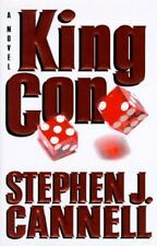 King Con by Stephen J. Cannell (1997, Hardcover)