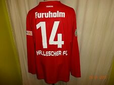 Hallescher FC MASITA Langarm Matchworn Trikot 2012/13 + Nr.14 Furuholm Gr.XL