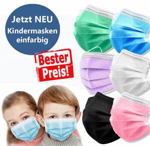 Kindermaske Gesicht-Atem-Schutz-Masken Mundschutzmaske 3 Lagig Einwegmaske