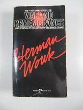 War and Remembrance Novel- Herman Wouk paperback 1980
