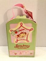 Strawberry Shortcake Carry Case With 3 Christmas Ornaments 2004 NWT!