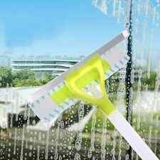 Window Scraper Cleaning Glass Cleaner Wiper Brush Tool Squeegee Car Home Double