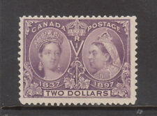 Canada #62 Mint Fine - VF **With Certificate**
