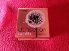 Benefit Dandelion Twinkle Highlighter Highlight Powder New 100% Genuine