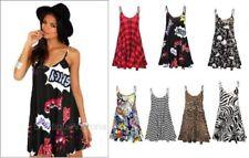 Summer/Beach Polyester Check Dresses for Women