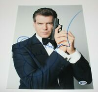 PIERCE BROSNAN SIGNED AUTOGRAPHED 11x14 PHOTO BECKETT COA 1 JAMES BOND 007 MOVIE