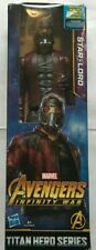 "Marvel Infinity War Titan Hero Series Star-Lord 12"" Figure NEW SEALED"