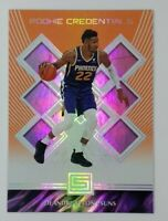 2018-19 Panini Status Rookie Credentials Orange Deandre Ayton Rookie RC #6, Suns
