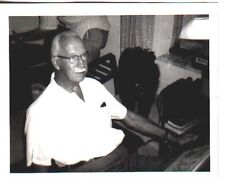 LOT ONE: 1971 8 x 10 black & white photo of HAL FOSTER at his Florida home.