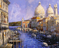 Art Giclee Print Italy Venice Scenery Oil painting HD Printed on canvas P929