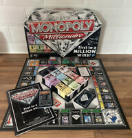 Monopoly Millionaire Board Game (Complete) Hasbro Family Board Game