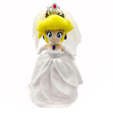 Super Mario Odyssey Peach Princess Wedding Dress Plush Toy Stuffed Animal 13""