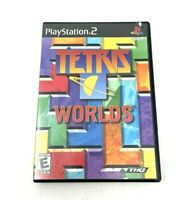 Tetris Worlds (Sony PlayStation 2, 2005) PS2 Complete!