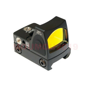 Rifle & Pistol Mini Holographic Reflex Micro Tactical Red Dot Sight for Hunting