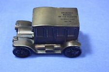 Collinsville ILLINOIS Building & Loan Association Metal Vintage Car Bank - USA