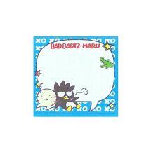 Pretty Sanrio Bad-Badtz Maru 40 Sheets Notepad/Memo Pad/Cute Note #C
