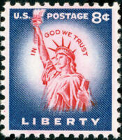Scott#: 1041B - Statue Of Liberty Single Stamp MNH OG