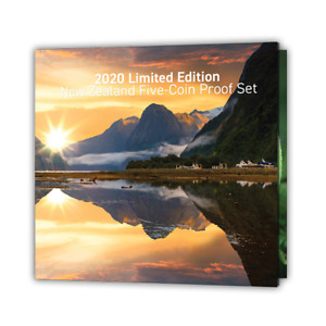 New Zealand - 2020 - Limited Edition Proof Coins Set - Mintage 250!!