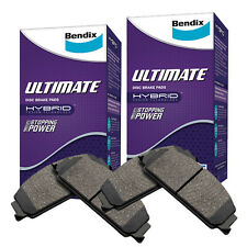 Bendix ULT Front and Rear Brake Pad Set DB1075-DB1109ULT