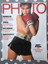 PHOTO n°208 French 01/1985 Marilyn Monroe Bo Derek Giacobetti Parkinson Stern