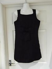 Black Jacquard Dress in UK Size 12 by Atmosphere Evening/Party/Smart Wear