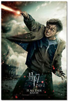 Harry Potter and the Deathly Hallows Movie Art Silk Poster 13x20 24x36 inch 002