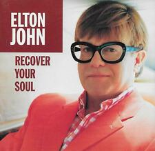 ELTON JOHN  Recover Your Soul  CD single with PicCover