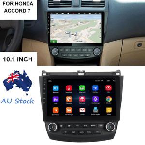 "10.1"" Android 9.1 Car Stereo Radio GPS Head Unit 1+16GB For Honda Accord 2003-07"