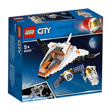 60224 LEGO City Space Port Satellite Service Mission Space Shuttle inspired by N